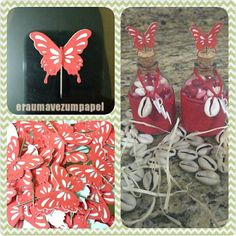 Apliques de borboleta