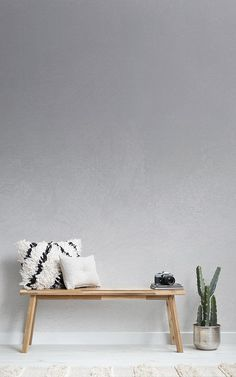 A grey ombre wallpaper is a great option when looking for minimalist yet impressive interior design, a creative mural. Grey Ombre Wallpaper, Ombre Wallpapers, Interior Walls, Interior Design, Hallway Wallpaper, Room Decor, Wall Decor, Hallway Decorating, Home Office Decor