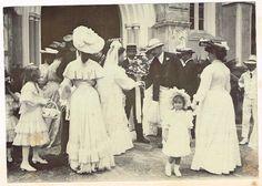 OLD HONGKONG PHOTOGRAPH CHURCH WEDDING HONG KONG  VINTAGE C.1900