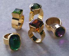 Kobi Bosshard rings...my current designer obsession