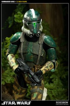 Commander Gree Sixth Scale Figure