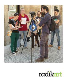 Seconda uscita con i ragazzi del corso alla Fondazione ferretti per il set nel comune di Castelfidardo!