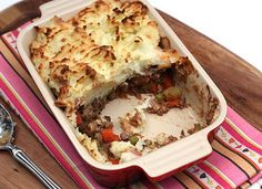 Shepherd's Pie...always a good idea in my book.