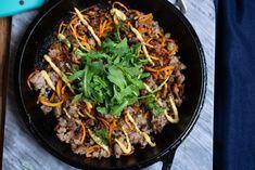 Breakfast Sausage Noodle Skillet (Whole30, Paleo, Keto) • The Castaway Kitchen