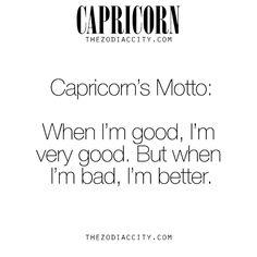 Capricorn Motto
