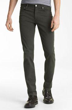 ShopStyle: A.P.C.'Petit' Slim Straight Leg Chinos