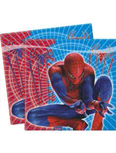 Spiderman Servetten