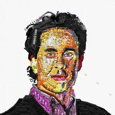 Emoji Art Portraits by Yung Jake