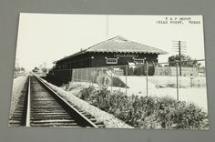 Texas & Pacific Railroad Depot Wills Point, Legendary Katy/UP Special Agent Tommy Chew, retired, now lives very near this depot which is now a TP museum.