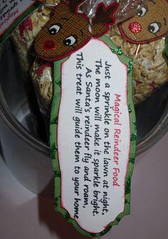 Jamiek711 Designs: Magical Reindeer Food