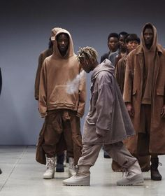 Ian Connor at Yeezy Season 2 NYFW