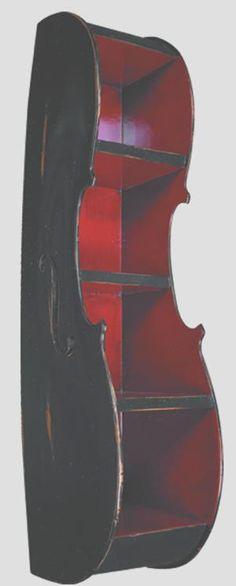 Cello shelf- for the music room