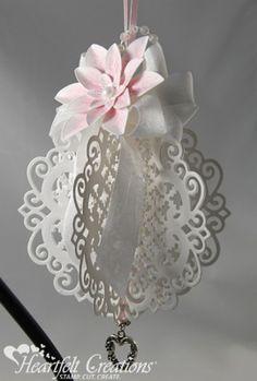 Heartfelt Creations | Pink Poinsettia Ornament