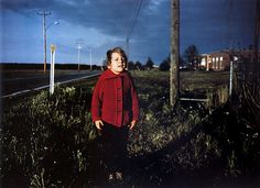 Young Boy In Red Sweater, Mississippi, United States, 1971, photograph by William Eggleston.