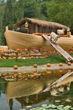 World Pumpkin festival at Ludwigsburg Palace