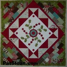 great piecing and finishing tutorial.  I really like the outsides of this quilt (not so much the berries)