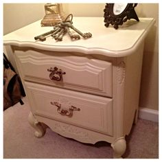 I loved doing this one! #diy #shabbychic