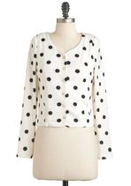 Polka Dot Clothing - Spotted in the Stacks Cardigan