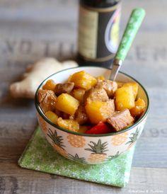 #Recette #Porc à l' #ananas