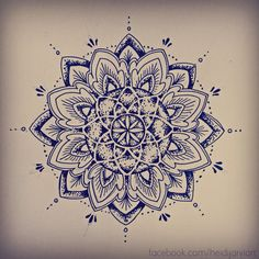 HEIDI JÄRVI TATTOO PORTFOLIO | Dotwork mandala with some sacred geometry in the...