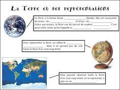 Différentes représentations de la Terre