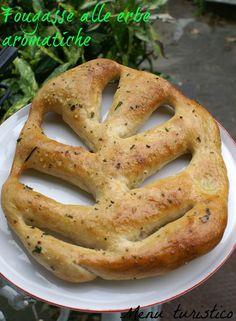 Per i piatti storici: la Fougasse alle erbe aromatiche (con pasta madre!).