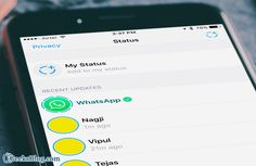 How to use #WhatsApp Status Feature on #iPhone