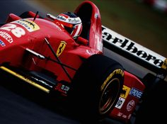 F1 Pictures Gerhard Berger Ferrari 1995