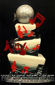 music themed wedding ideas | Crysties blog: The wedding cake will look astonishing with some ...