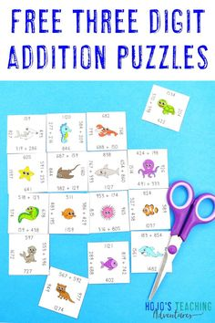 Get your FREE Addition Magic Square Puzzles now! Perfect for grade teachers thanks to the differentiated versions available! Free Teaching Resources, Teaching Math, Maths, 5th Grade Classroom, 5th Grade Math, Elementary Education, Upper Elementary, Free Puzzle, Magic Squares