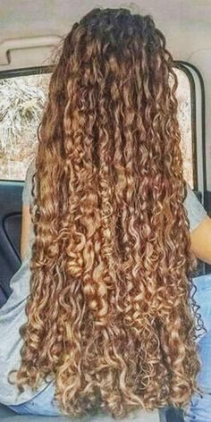 Long Brown Hair, Long Curly Hair, Curly Hair Styles, Beautiful Long Hair, Gorgeous Hair, Tail Hairstyle, Extreme Hair, Long Curls, Hair Reference
