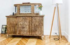 Wooden #dresser in the living room - #egprojekt