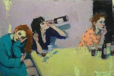 Malcolm Liepke Girls Night 2018 oil on canvas Artist Painting, Figure Painting, Painting & Drawing, Arte Indie, Arte Sketchbook, Art Hoe, Wow Art, Pretty Art, Art Plastique