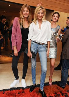 5 STYLE LESSONS FROM ANJA RUBIK. For a party with an open dress code, never underestimate the power of a great pair of jeans and a white-button down shirt. Even Hanneli Mustaparta is jealous of Rubik's laid-back party style. - HarpersBAZAAR.com