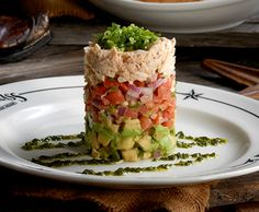 #Avocado Crab Stack. Saltgrass Steak House - Texas to the Bone!