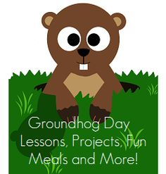 Enchanted Homeschooling Mom: Groundhog Day Round Up Filled Fun Preschool At Home, Preschool Lessons, Preschool Crafts, Preschool Groundhog, Groundhog Day Activities, Winter Fun, Winter Holidays, Holiday Crafts For Kids, Christmas Crafts