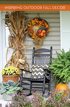 Eye Candy: Attractive Outdoor Decor For Fall
