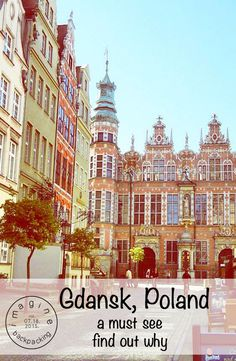 Gdansk is an amazing, walkable town along the Northern harbour of Poland. You MUST go! Find out why by reading our blog! // @imaginebackpack // #travel #travelblog #backpacking