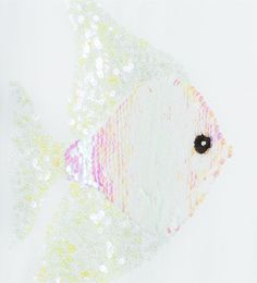Sequinned fish T-shirt from Zara