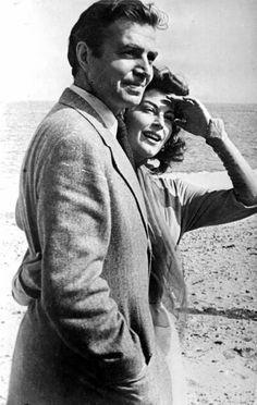 James Mason & Ava Gardner in Spain while filming Pandora and the Flying Dutchman (1951)
