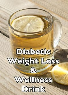 T2 Diabetes Weight Loss Wellness Drink - lower blood sugar, improve liver, boost metabolism and more.