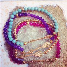 Cupid Arrow Bracelets S/S 2013 ten10jewelry.etsy.com