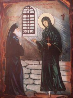 Saint Paisios the Athonite, the Saint of our times Luke The Evangelist, The Holy Mountain, Ema, Spiritus, Byzantine Icons, Orthodox Christianity, Prayer Book, Catholic Art, Orthodox Icons