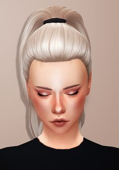 "HAIR RECOLOUR DUMP #6 meshes required: high ponytail / jisoo / auli'i / 90s babe • coming in my ""shades of coffee"" palette • meshes not included • do not claim as your own & do not re-upload download..."