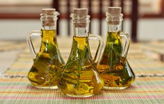 They're great for cooking and for salads. Did you know that it's easy and inexpensive to make herb-infused olive oil at home?
