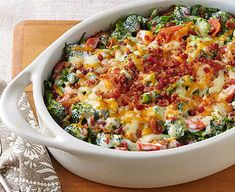 Mint Recipes, Avocado Recipes, Broccoli Recipes, Vegetable Recipes, Vegetable Bake, Broccoli Bake, Healthy Sweet Snacks, Healthy Eating, Snacks Under 100 Calories