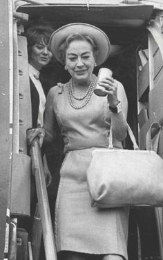 Joan arriving in Boston and being generally adorable, 1969.