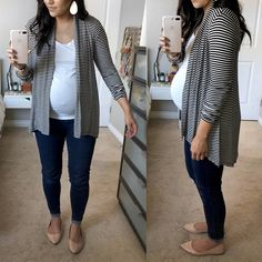 ripped skinny jeans for women petite Click visit link above for more info Maternity Work Clothes, Winter Maternity Outfits, Stylish Maternity, Maternity Wear, Maternity Tops, Maternity Fashion, Pregnancy Fashion, Maternity Cardigans, Casual Pregnancy Outfits
