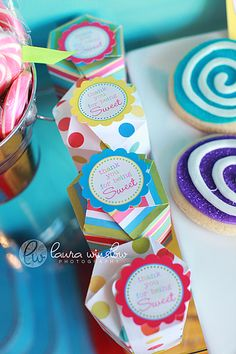 We are so excited to finally show this AMAZING photo shoot and our restyled Lollipop Party Collection with you! Laura of Laura Winslow Photography contacted me about a shoot she was working on for Classy Sassy Girls at Smeeks Candy Shop in Phoenix! All she had to say was CANDY and I was in! It …