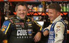 Tony Stewart and AJ Allmendinger
